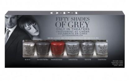 Werden Sie aufwärts die OPI Fifty Shades Of Grey Sammlung vorlegen?