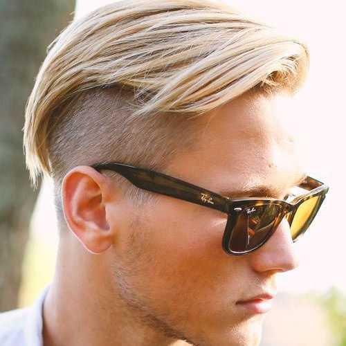 Blonde Frisuren für Männer