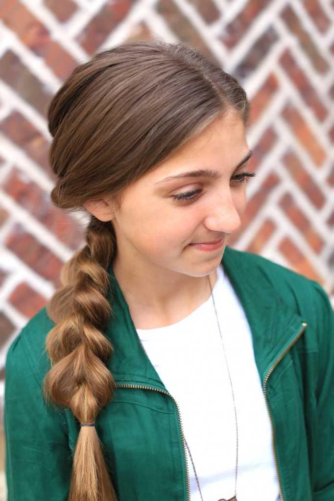 Triple-Schlag-Combo | Einfache Frisur