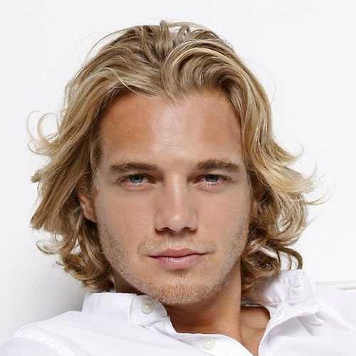Dirty Blonde Haare Männer