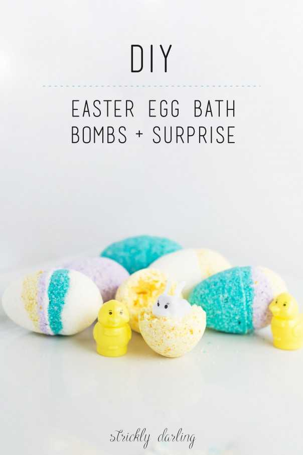 DIY Ostern Bad Bombe Surprise