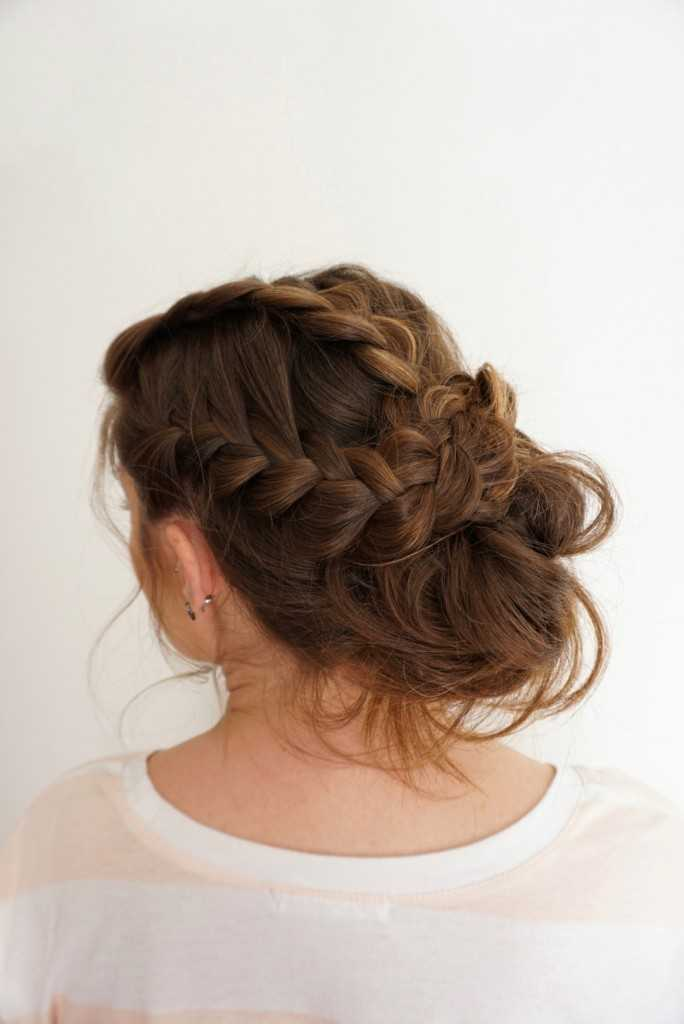 Romantische Updo | Braid
