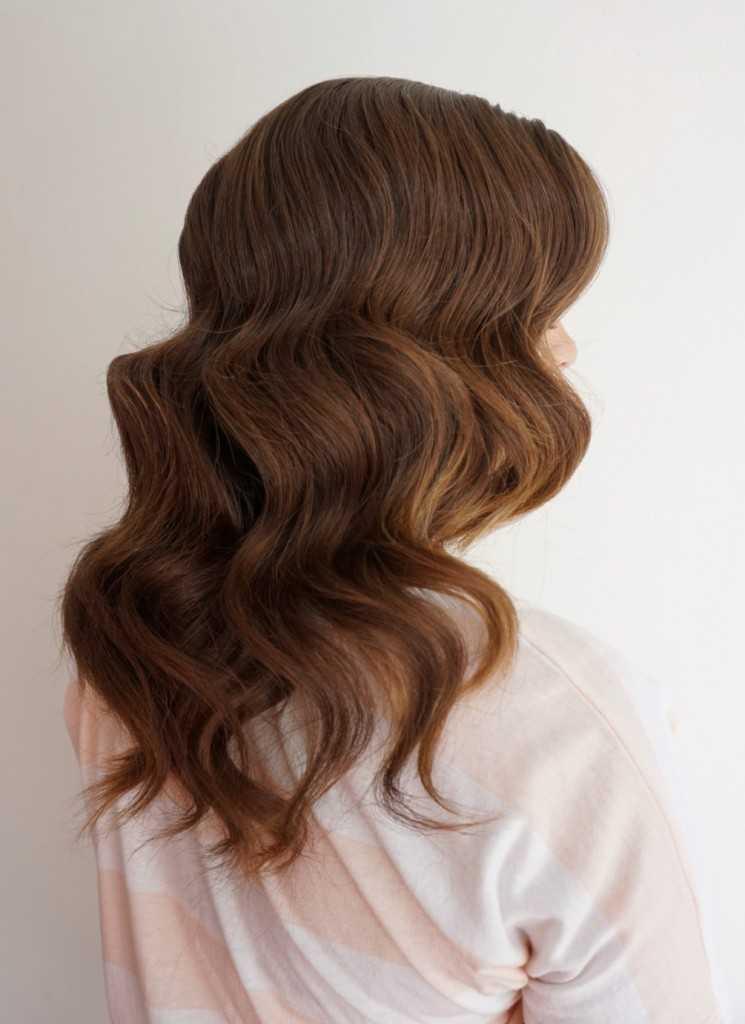 Vintage Haare | Klassische Waves