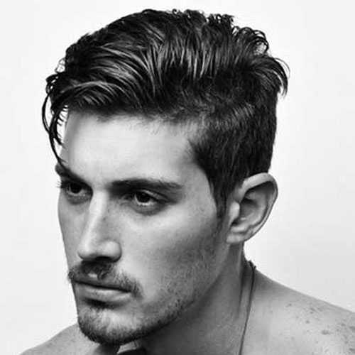 Haircuts für Männer mit dicken Haaren