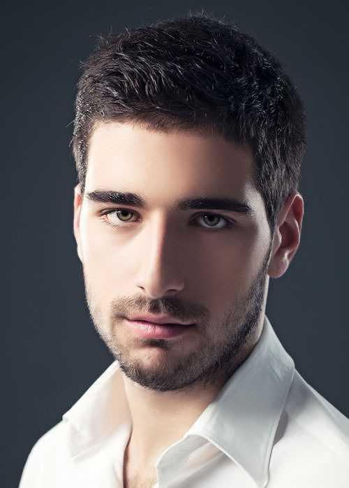 Haircuts für Oblong Gesichtsformen Männer