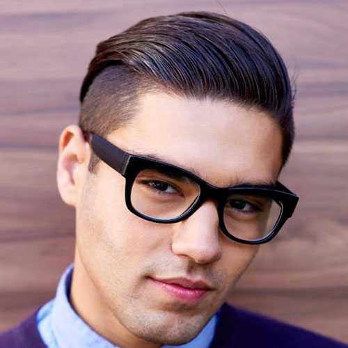 Frisuren für Männer mit Thick Glattes Haar