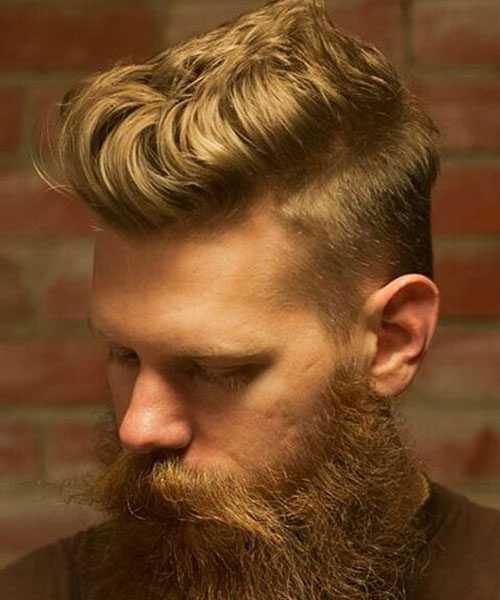 Hot Blonde Frisuren für Männer