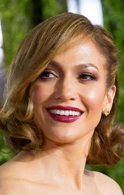 Jennifer Lopez faux bob