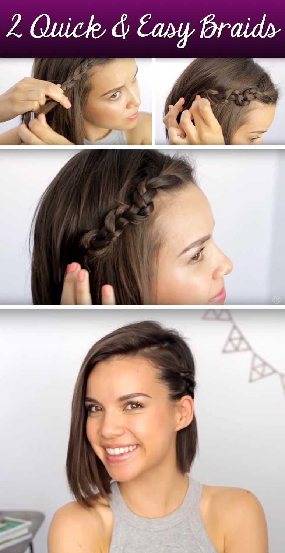 Machen Sie Ihre Chopped Locks Dazzle mit diesen herrlichen und dennoch einfache Kurzes Haar Zöpfe!