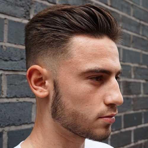 Männer Haircuts für kräftiges Haar