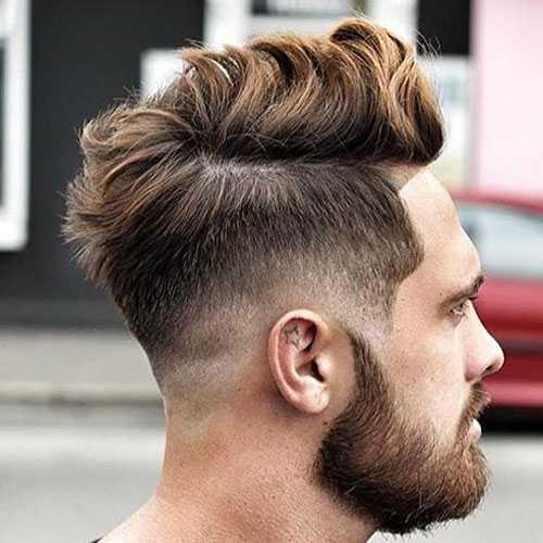 Männer Frisuren für dicke Welliges Haar
