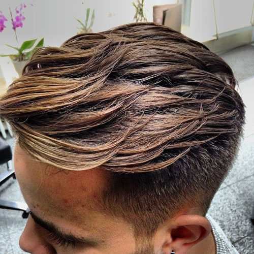 Männer Layered Haircuts