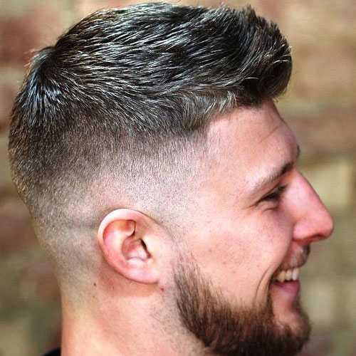 Männer Kurze Frisuren für dickes Haar