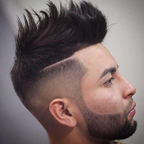 der starken Männer-Frisuren