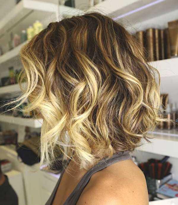 Ombre Art für Ihre Bob Haircut