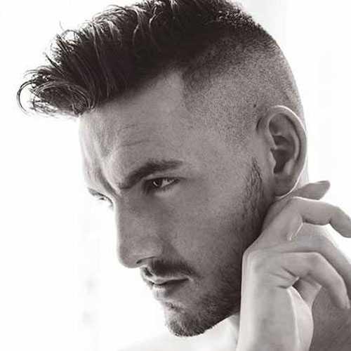 Shaved Frisuren für Männer