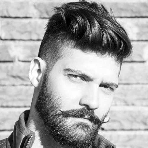Shaved Side Frisur