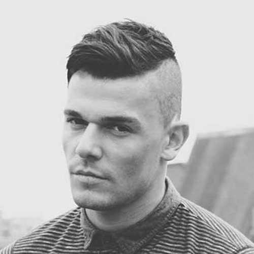 Shaved Seiten Long Top Haircut