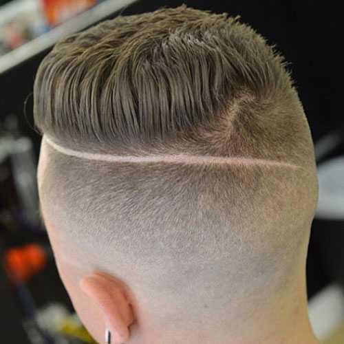 Shaved Seiten und Boden Haircut