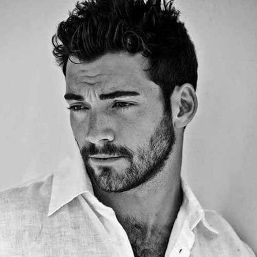 Kurzhaarschnitte für Männer mit dicken Haaren
