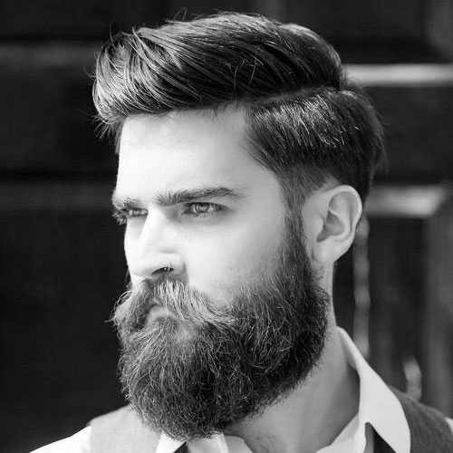 Kurzhaarschnitte für kräftiges Haar und Bart
