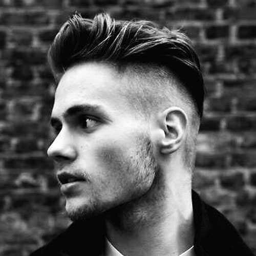 Side rasierte Frisuren