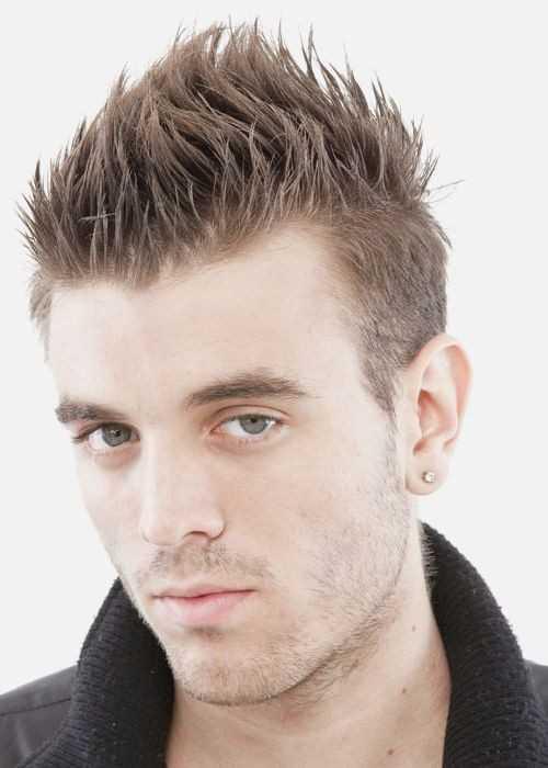 Spiky Frisuren für Männer 2016