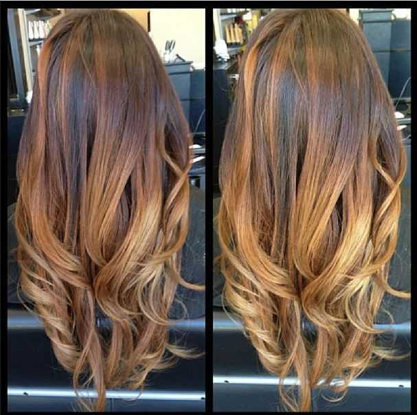Sun Kissed Ombre Hair
