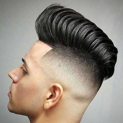 Teen Männer-Frisuren - Moderne Pompadour