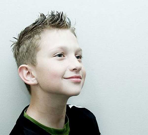 The Spike Frisuren für Jungen