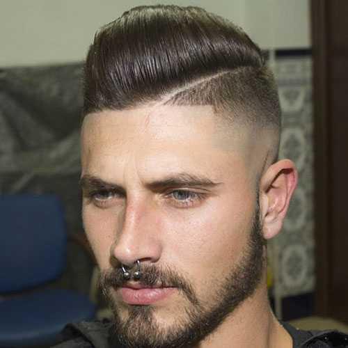 Top Rasiert Sides Frisuren