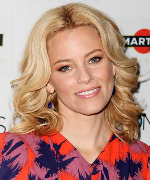 Elizabeth Banks Medium wellige Frisur - Mittelblond (Golden ...