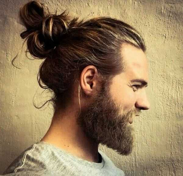 cool man bun