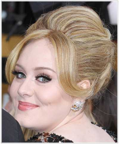 high volume Frisuren von adele 2016