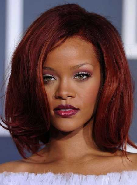 high volume Frisuren von rihanna 2016