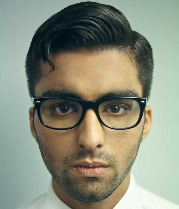 Hipster Haircut mit Seitenteil