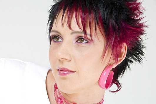 Kurzhaarfrisur Haarfarbe