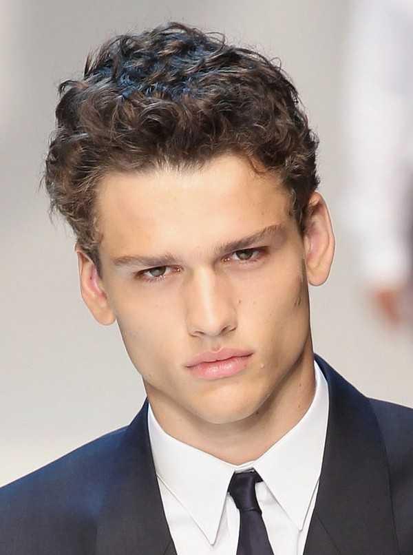 unordentlich stilvollen Herren Haar