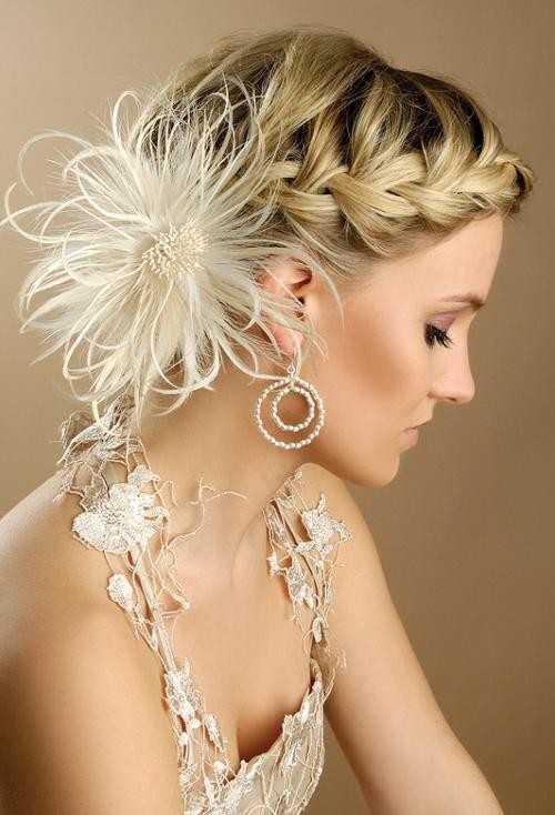 kurze geflochtene Frisuren für prom