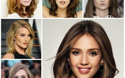 Schulter Länge Frisuren zu Händen 2016