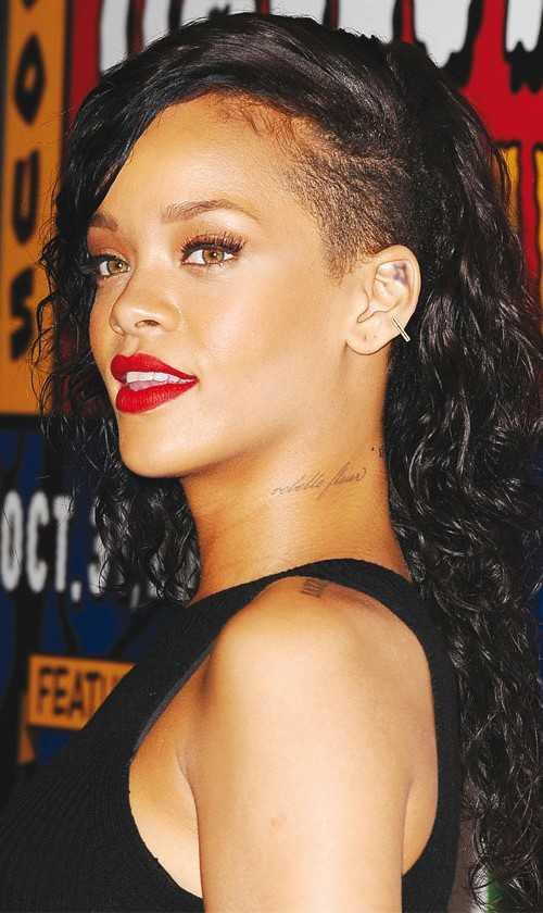 Seite rasiert Rihanna 2016