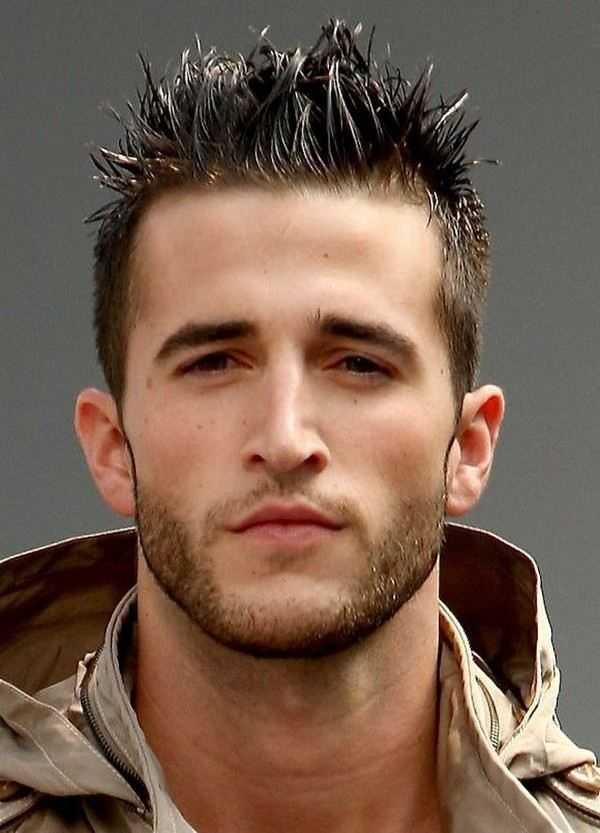 spikey stilvolle Frisur Männer