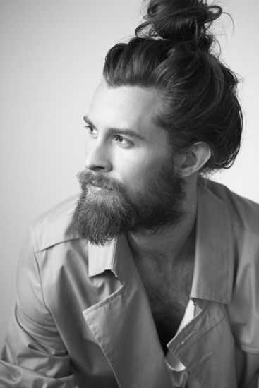 top Knoten für Männer mit Bärten 2016 Stil
