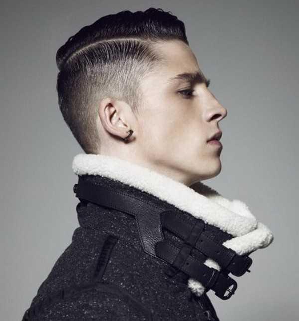 Trendy Frisur für Männer