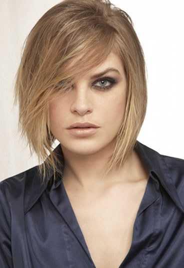 Damen Haarschnitt Frisuren Stil Haar