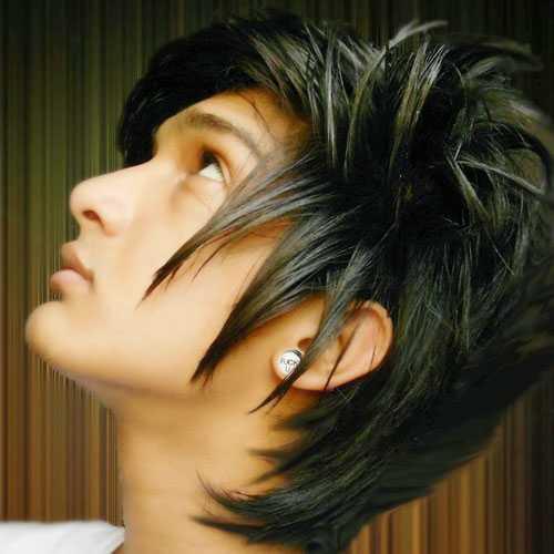 Cool Emo-Frisuren