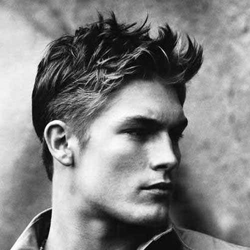 nette kurze Frisuren für Männer