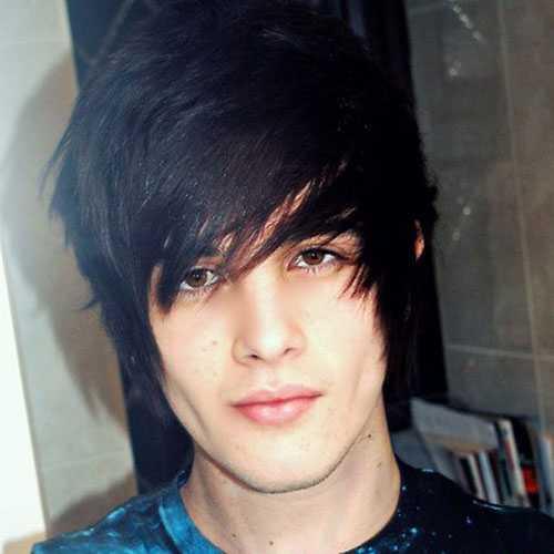 Emo Kurze Frisuren für Jungen