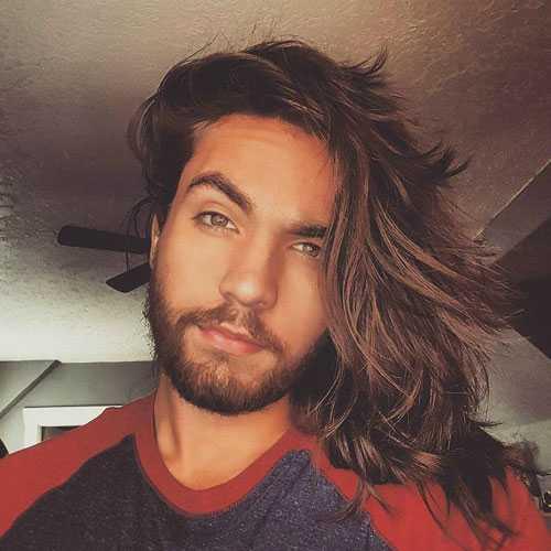 heißen Männer Lange Frisuren