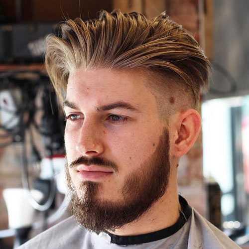 Männer lange Haircuts